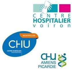 Centres Hospitaliers Voiron Amiens Montpellier